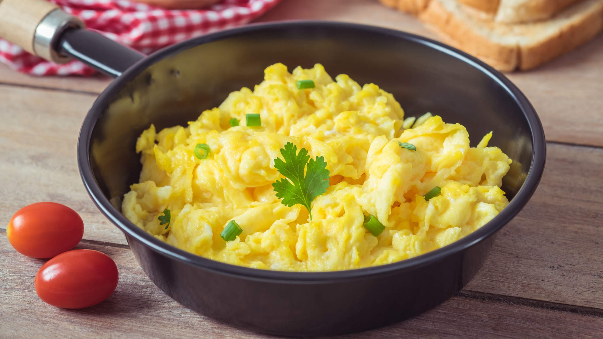 Why Adding Milk To Your Scrambled Eggs Is a Mistake