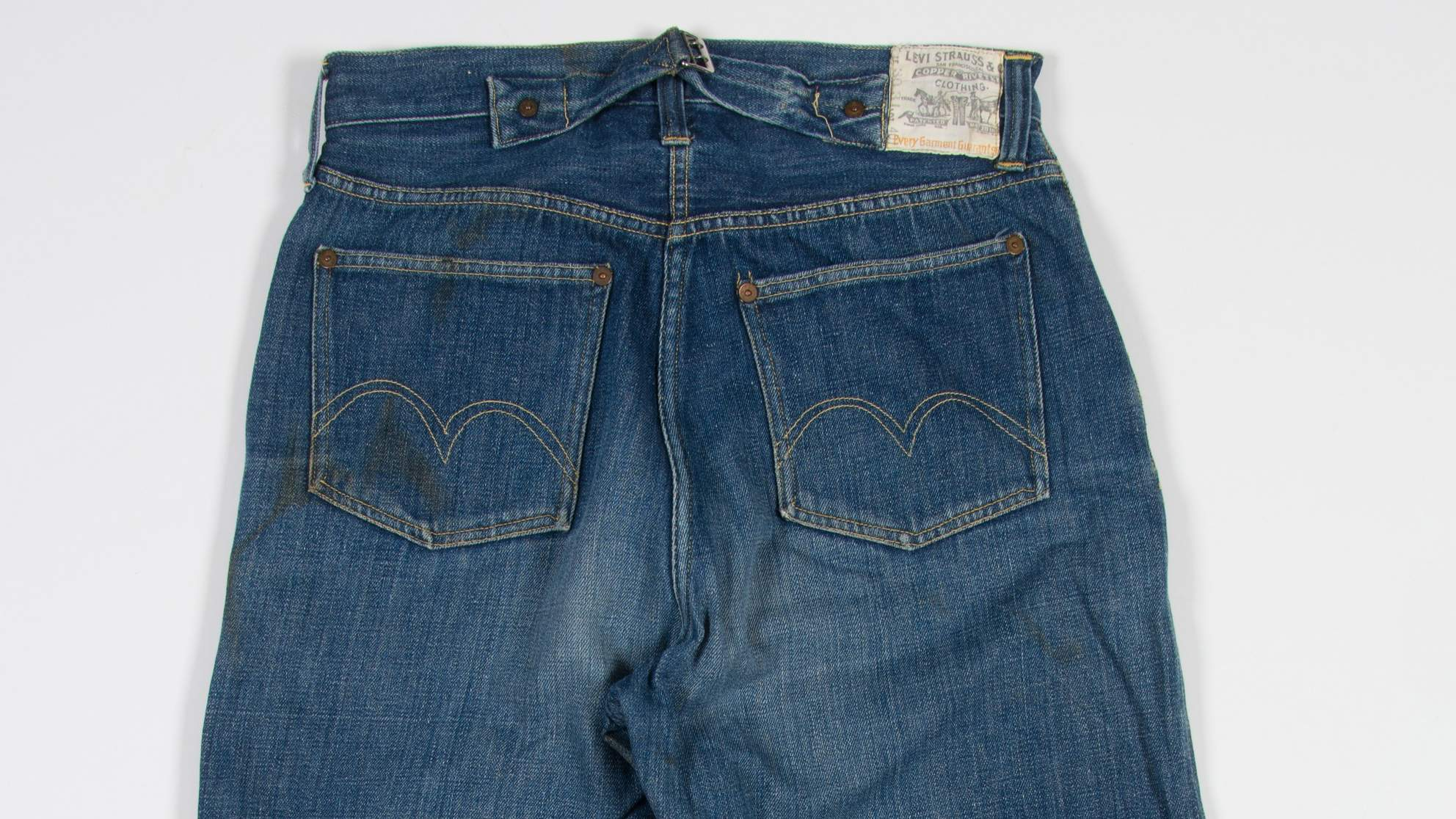 The Oldest Pair of Women's Jeans Were Just Discovered, and Yes, They Are Mom Jeans