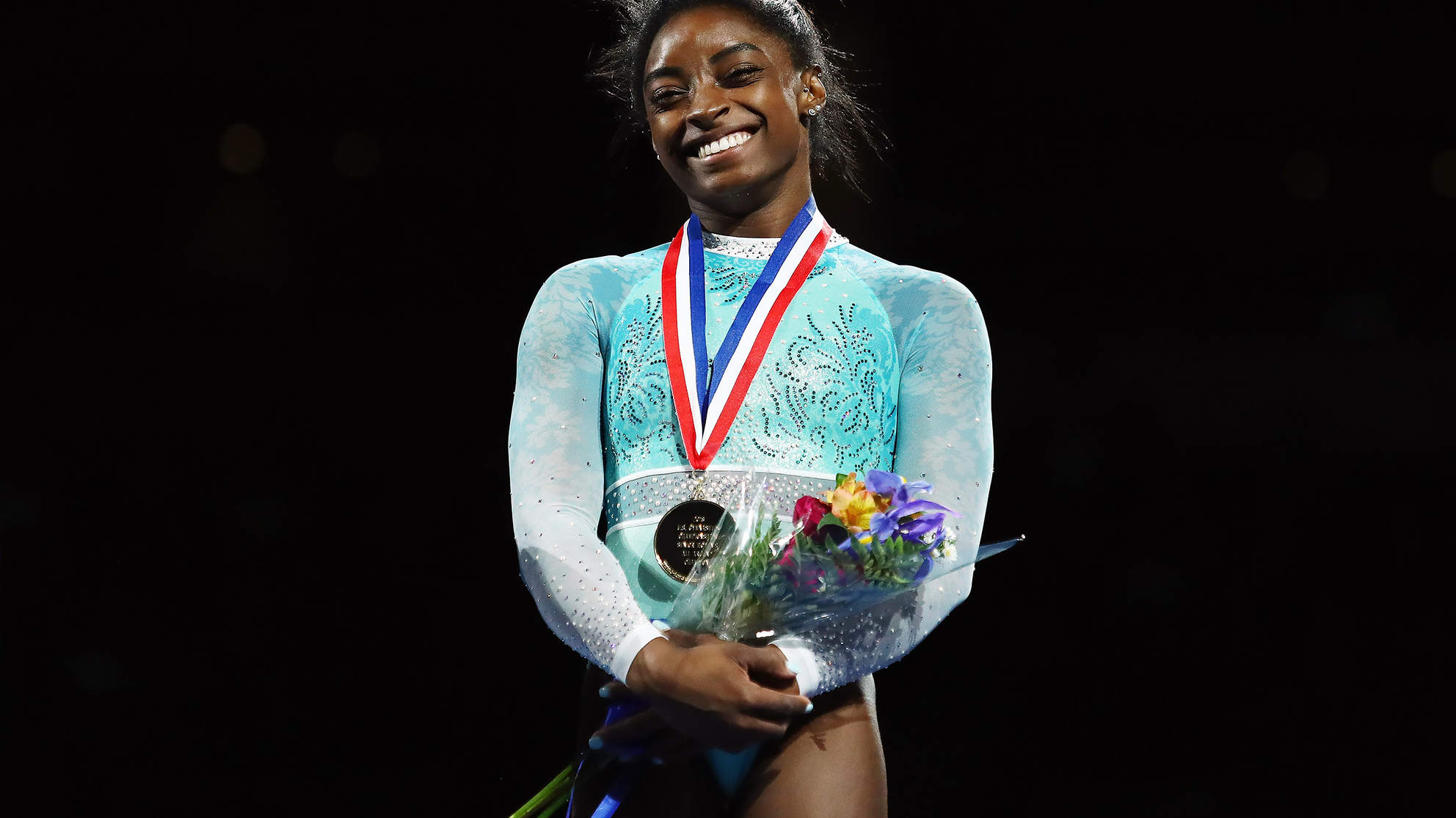 Simone Biles Broke a Major Gymnastics Record—While Wearing an Outfit with a Hidden Meaning