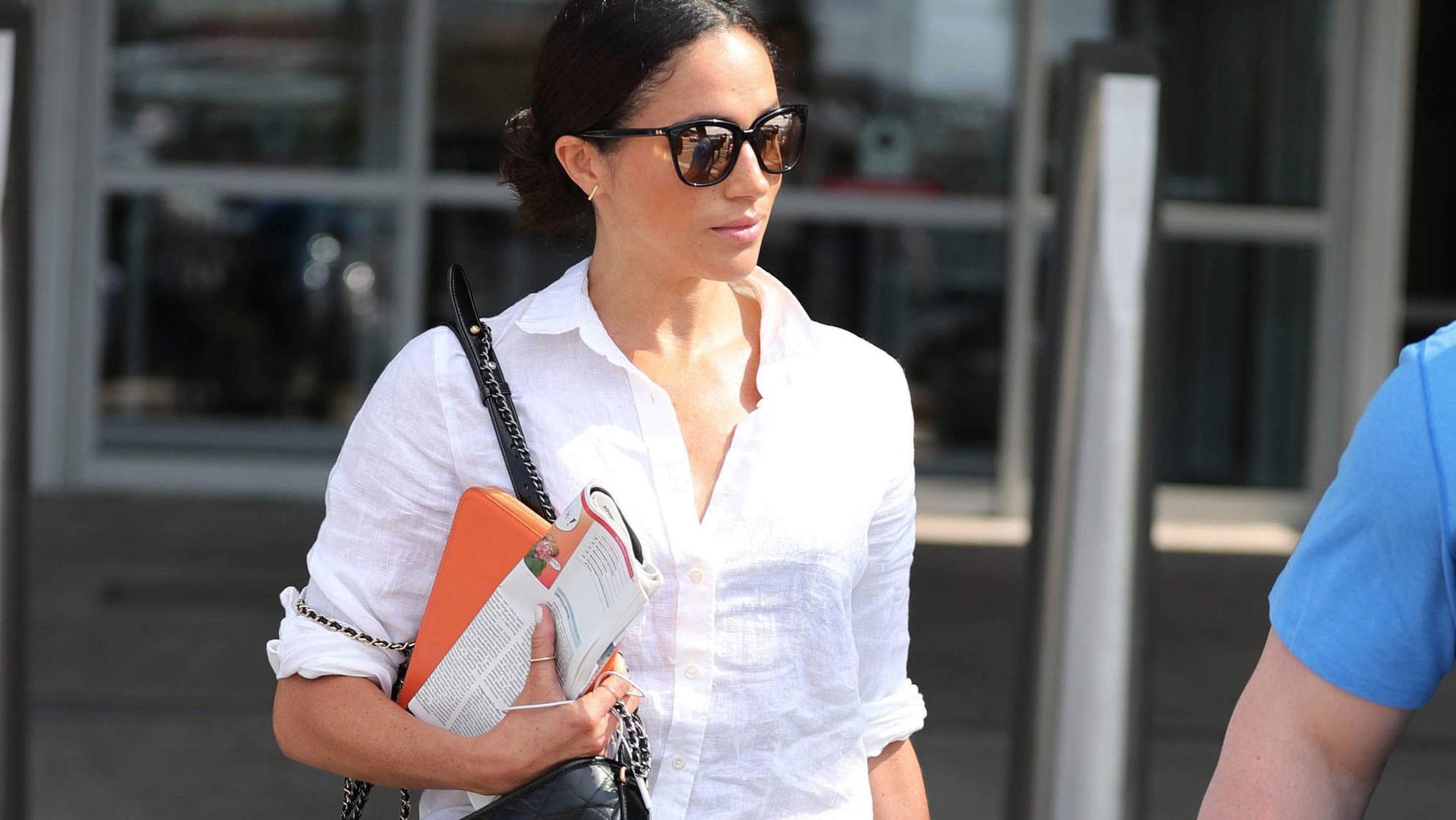 This Is The One Thing Meghan Markle Can't Fly Without—And It's Pretty Genius