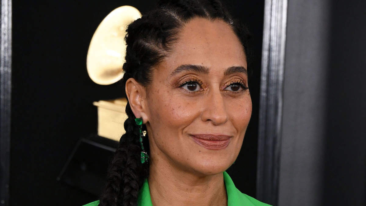 Tracee Ellis Ross Reveals Her Secret for a 'Tight Chin' in this Grammy Beauty Prep Video on Instagram
