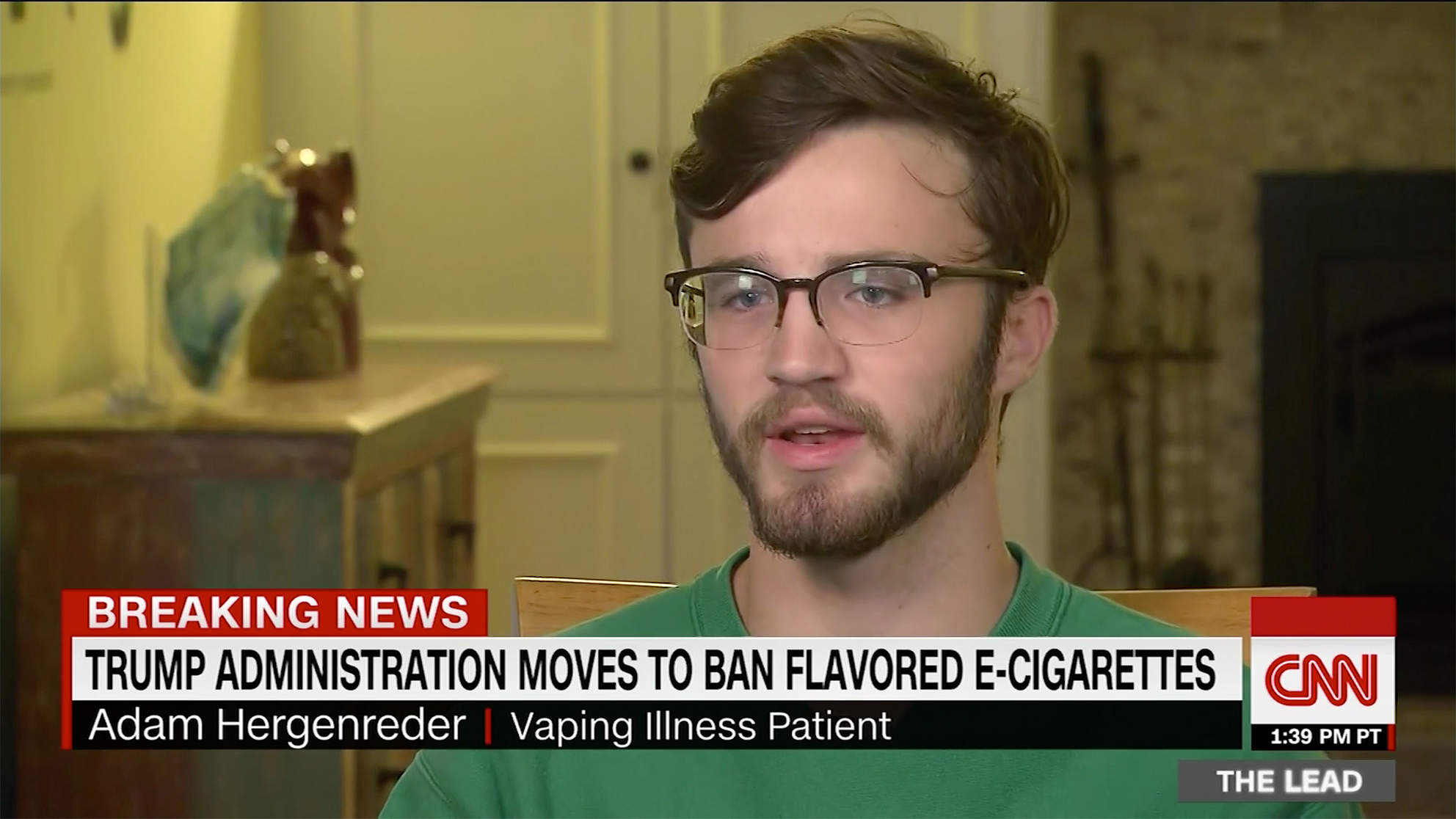 Teen Has Lungs of 'a 70-year-old' from Vaping for Over a Year: 'Every Parent's Worst Nightmare'