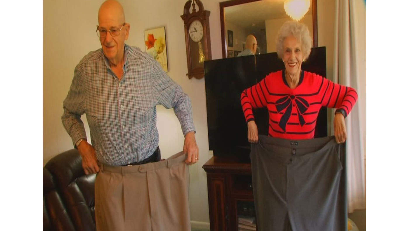 North Carolina Couple in Their 70s Loses Nearly 400 lbs Together