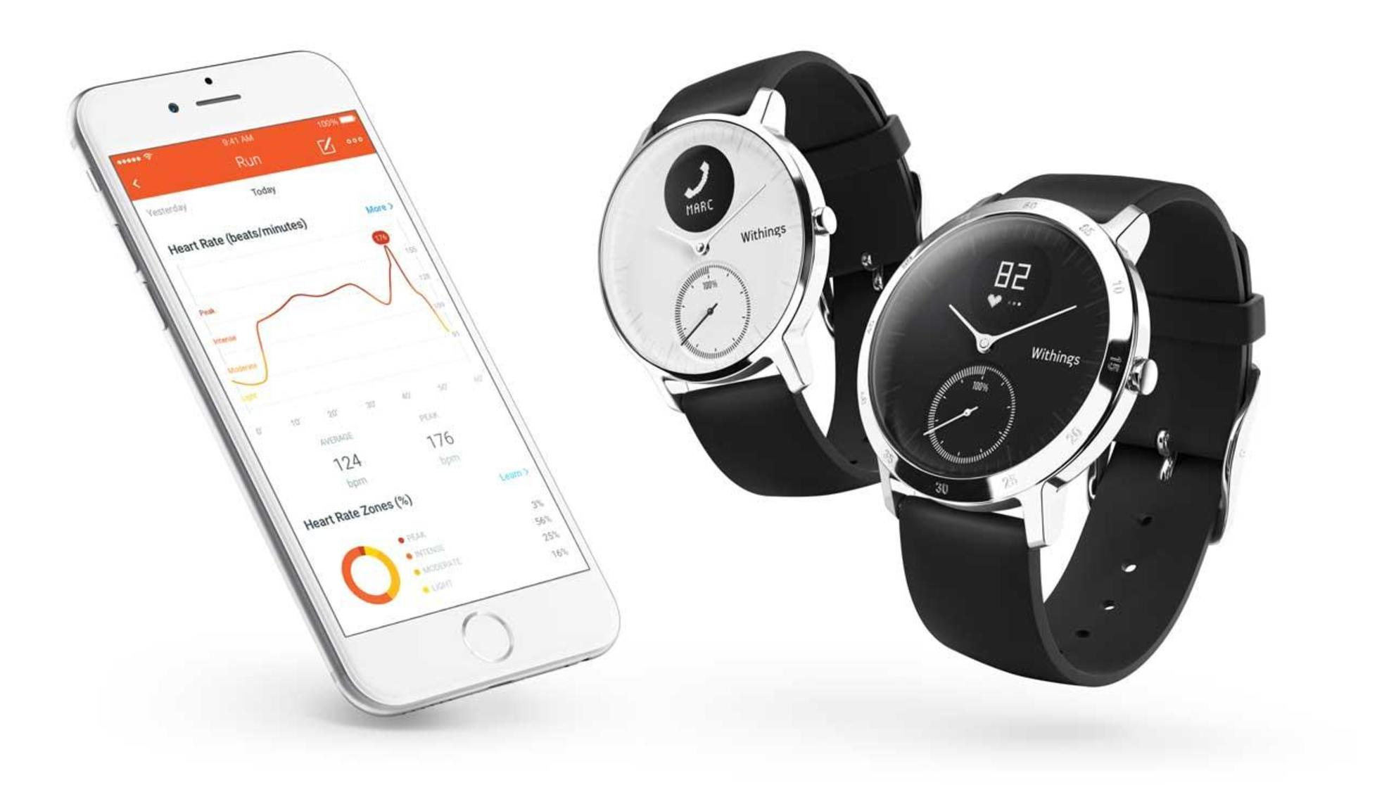This Hybrid Smart Watch Fitness Tracker Has a 25-Day Battery Life