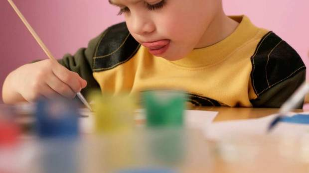 Why Do Kids Stick Out Their Tongues When They're Concentrating?