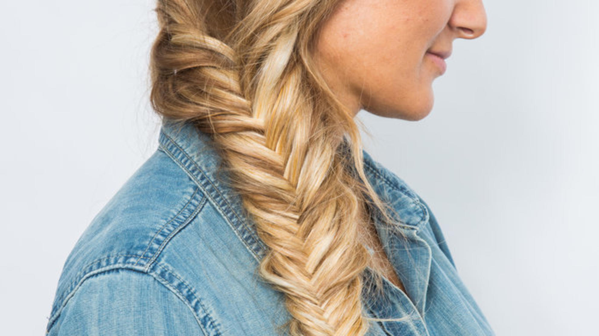 This Part-Dutch, Part-Fishtail Tutorial Will Cause Major Braid Envy