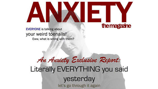 These Fake Magazine Covers About Anxiety Are So Relatable