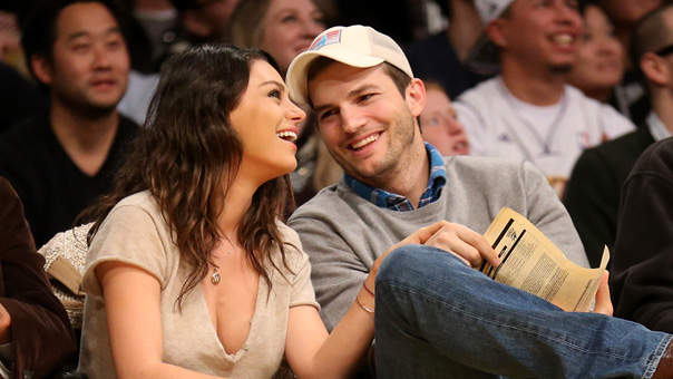 Why Ashton Kutcher Is Ticked That Men's Bathrooms Don't Have Diaper Changing Stations