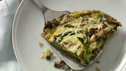 Recipe of the Day: Asparagus-and-Mushroom Frittata
