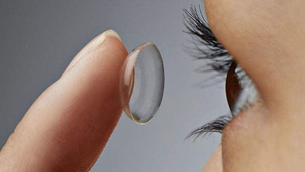 The Gross Mistake You're Making With Your Contact Lenses