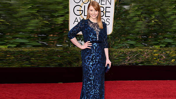 Why Bryce Dallas Howard's Golden Globes Dress Is Unusual