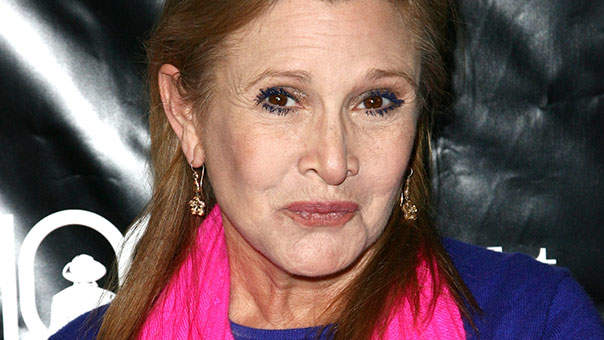 Carrie Fisher Reveals She Was Pressured to Lose Weight for Star Wars: The Force Awakens