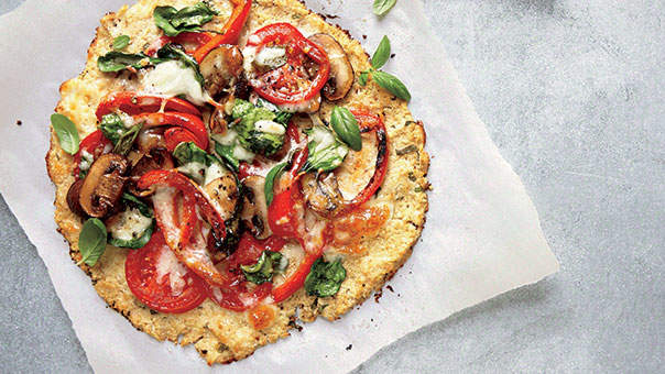 How to Make Cauliflower Crust Pizza