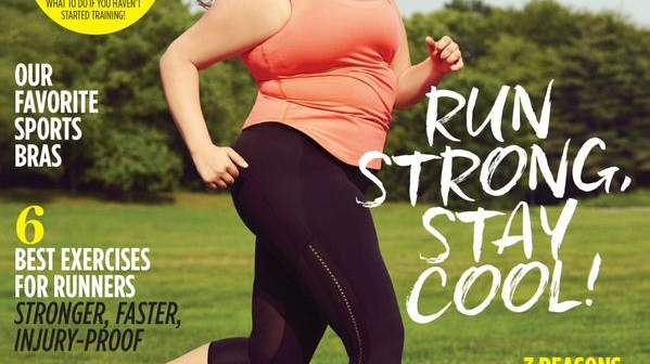 This Awesome Magazine Cover Proves That 'Anyone Can Run'