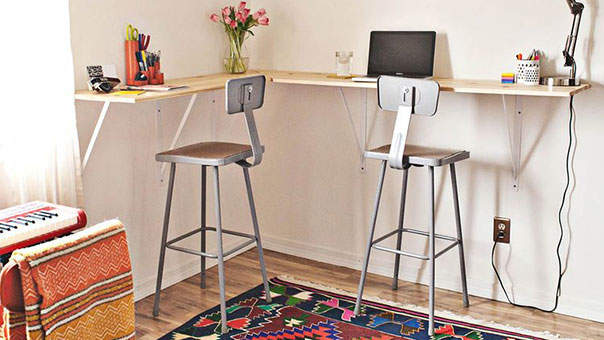Incroyable 12 Standing Desk Ideas That Just Might Save Your Health (and Your Wallet)
