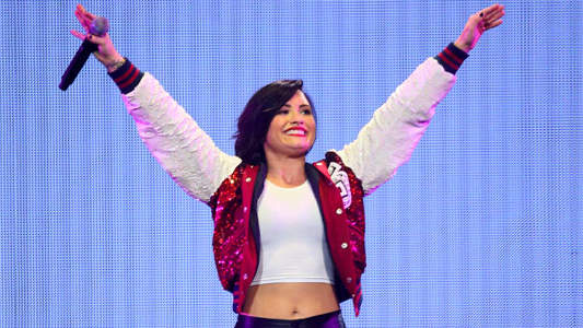 How Demi Lovato Conquers Everyday Negativity