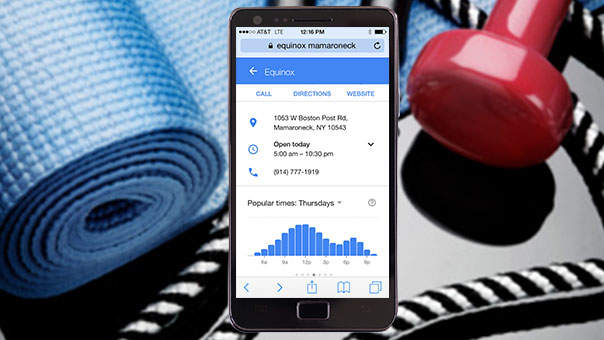 Google Can Now Tell You When Your Gym Is Too Crowded