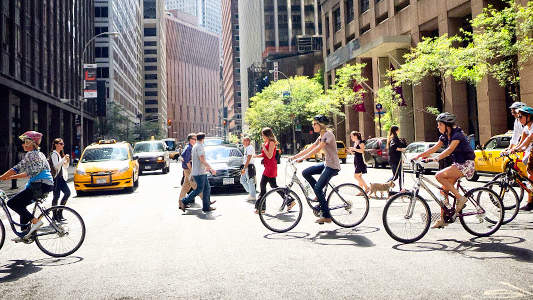 The Best and Worst Cities in the U.S. for Riding a Bike