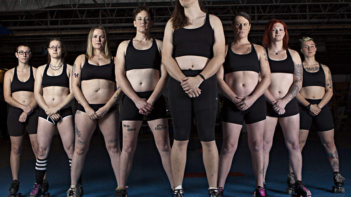 How One Man's Photos Are Celebrating Athletic Women's Bodies