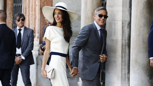 Amal Alamuddin Quit Smoking for George Clooney