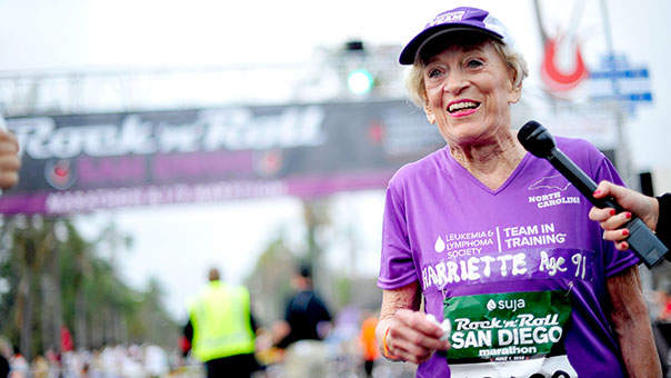 This 92-Year-Old Woman Just Became the Oldest Person to Finish a Marathon