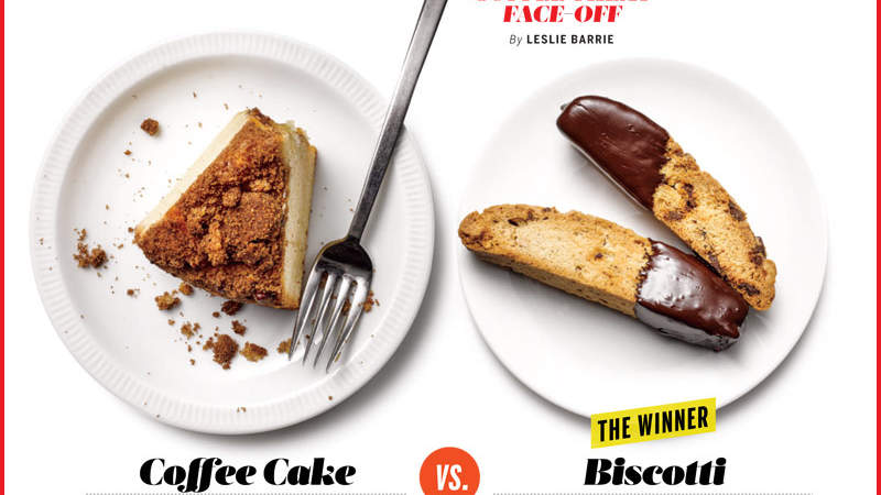 Which is Healthier: Coffee Cake or Biscotti?