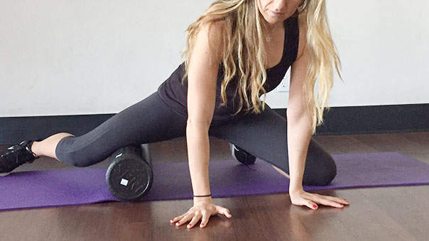 How to Foam Roll Every Hard-to-Reach Muscle