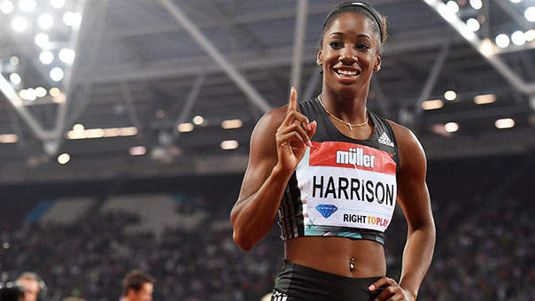 After Missing the Olympic Track and Field Team, Keni Harrison Broke a 28-Year-Old Record