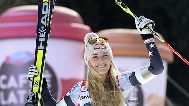 Lindsey Vonn: What I Eat in a Day