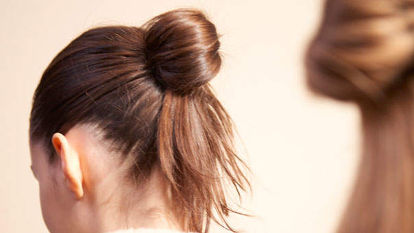 Learn How to Tie a Chic Knotted Ponytail With This Easy Hair Tutorial