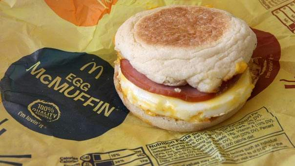 3 Healthier Breakfast Choices at McDonald's