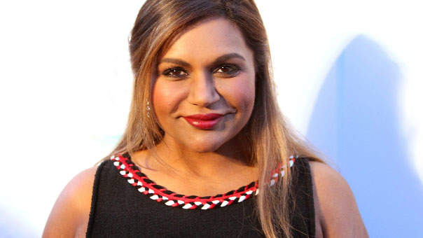 Mindy Kaling Celebrating Her Mile PR Is All of Us