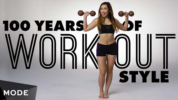 Watch 100 Years of Workout Style With Cassey Ho