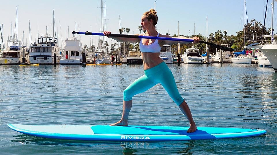 7 Yoga Poses to Do While Stand Up Paddleboarding
