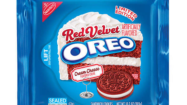 Oreo Unveils New Red Velvet Cookies for Valentine's Day