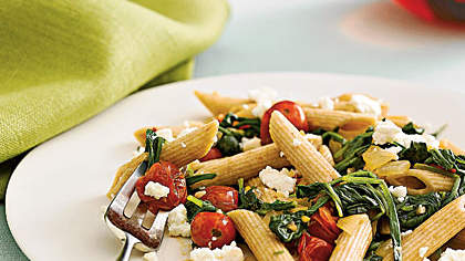 Recipe of the Day: Penne With Spinach and Feta