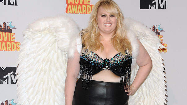 The Awesome Reason Rebel Wilson Wore Giant Wings at the MTV Movie Awards
