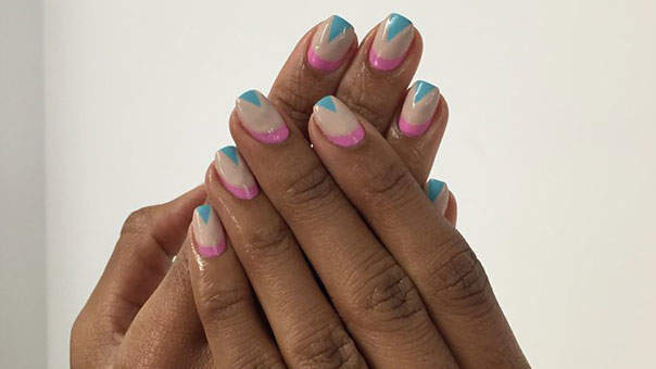 DIY This Funky-Chic Nail Art in Just 4 Easy Steps