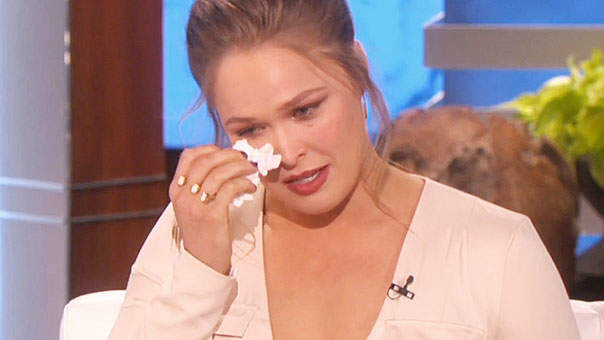 Ronda Rousey Reveals She Had Suicidal Thoughts After Loss to Holly Holm
