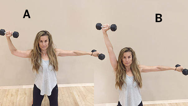 6 Moves for Sculpted Shoulders by New Year's Eve