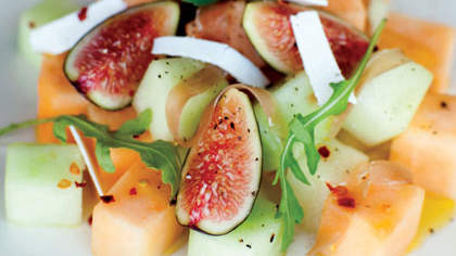 Recipe of the Day: Summer Melon with Fig and Prosciutto