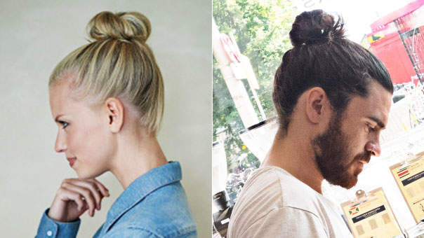 How Wearing a Top Knot Might Actually Lead to Bald Spots
