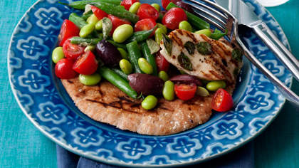 Meatless Monday Recipe: Two-Bean Greek Salad