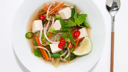 Recipe of the Day: Vietnamese Pho and Spring Rolls