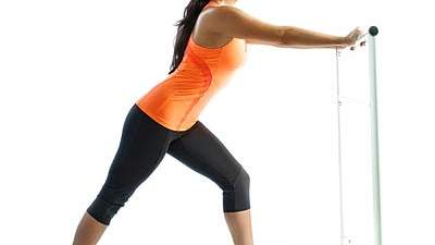 Move of the Day: Staggered-Leg Wall Squat