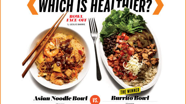 Which Is Healthier: An Asian Noodle Bowl or a Burrito Bowl?