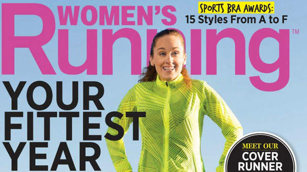 Runner with Autism Graces the Latest Cover of Women's Running