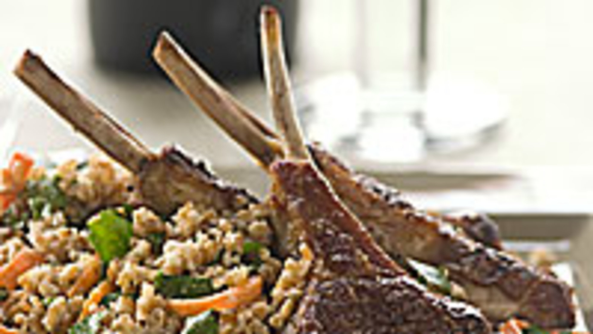 lamb-chops-bulgur