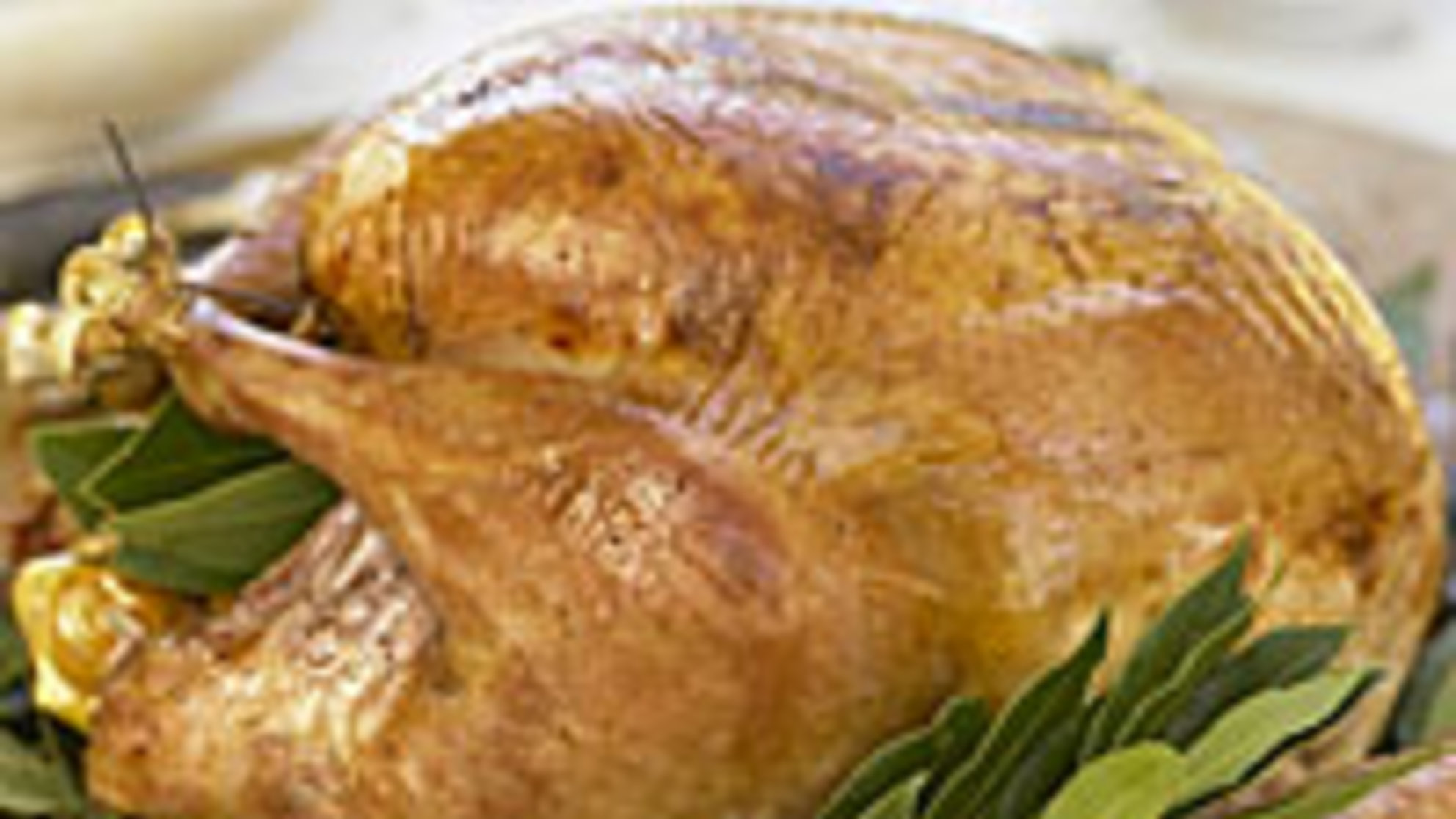 Healthiest Thanksgiving: Fresh Herbs, Not Fat, Add Flavor to This Low-Cal Turkey