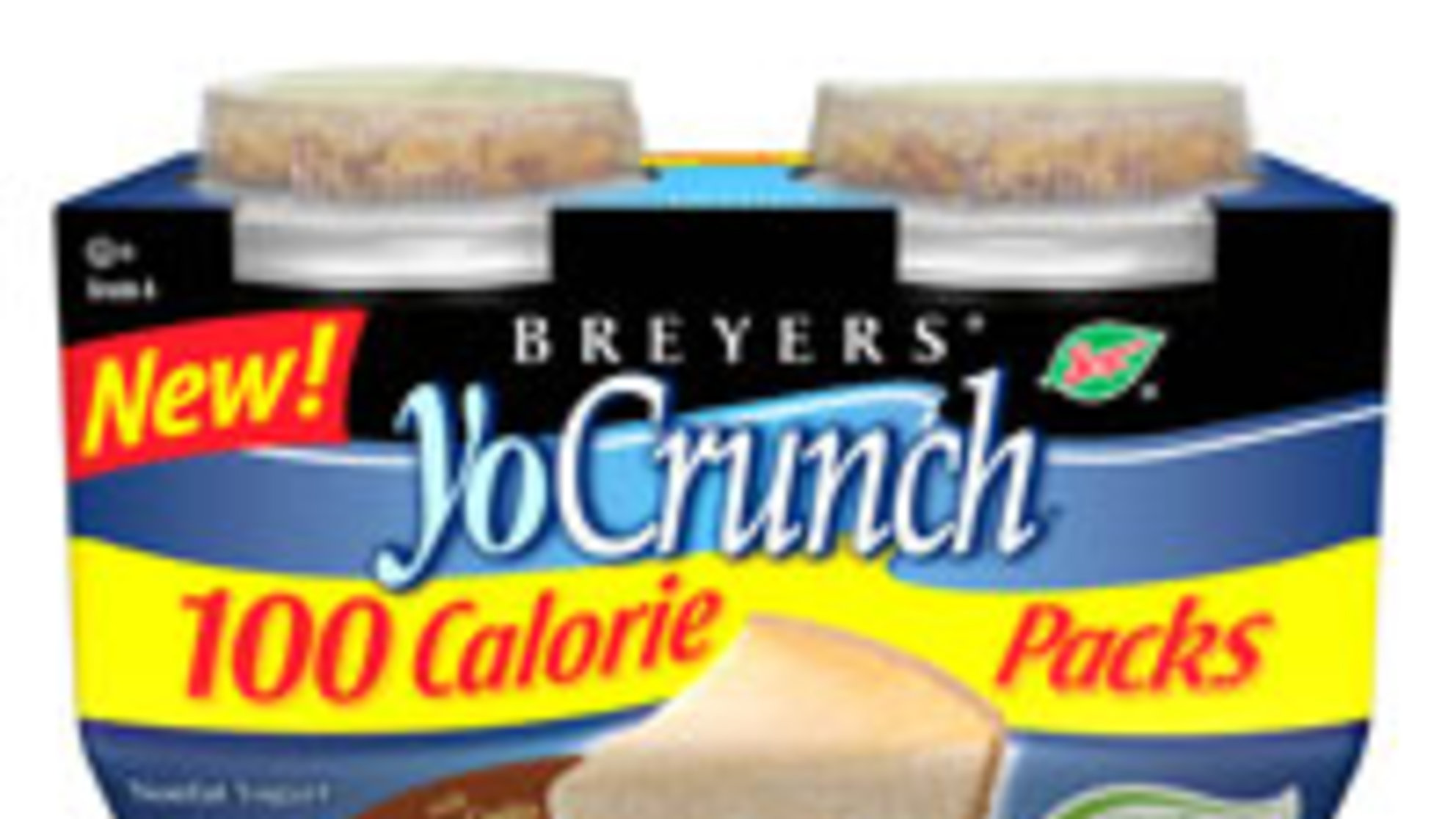Foodie Friday: Breyers YoCrunch 100 Calorie Packs